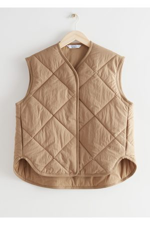 & OTHER STORIES Quilted Padded Vest