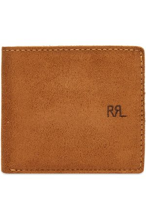 RRL Men Wallets - Suede Billfold Wallet
