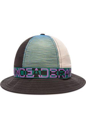Brain Dead Men Hats - Nigel Colour Blocked Bell Bucket Hat