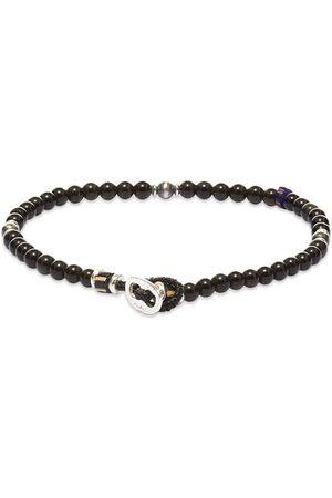 Mikia Men Bracelets - Tube Stone Bracelet