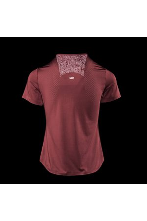 MP Women Short Sleeve - Women's Velocity Short Sleeve Top- Claret