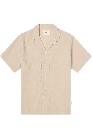 Folk Men Shirts - Junction Striped Vacation Shirt