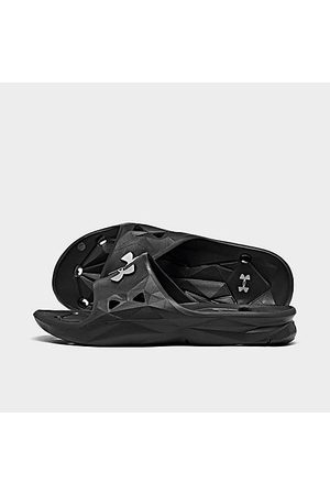 Under Armour Big Kids' Locker III Slide Sandals in / Size 4.0