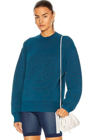 Nagnata Sonny Crew Neck Sweater in Teal