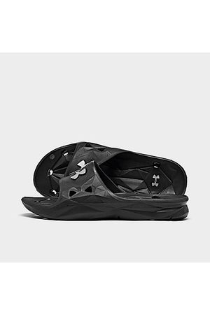 Under Armour Little Kids' Locker III Slide Sandals in / Size 1.0