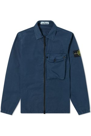 Stone Island Men Casual - Zip Pocket Overshirt
