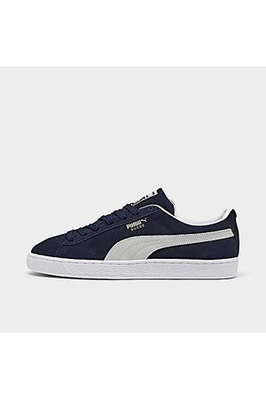 PUMA Men's Suede Classic 21 Casual Shoes in /Navy Size 8.0