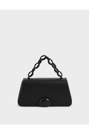 CHARLES & KEITH Chain Top Handle Bag