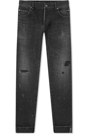 Balmain Men Slim - Selvedge Repaired Slim Jean