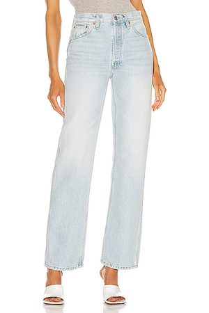 RE/DONE 90's High Rise Loose in Denim-Light