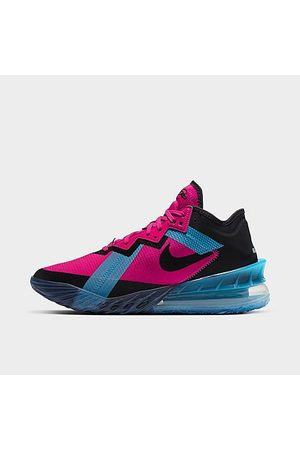 Nike Men Basketball - LeBron 18 Low Basketball Shoes in /Fireberry Size 6.0