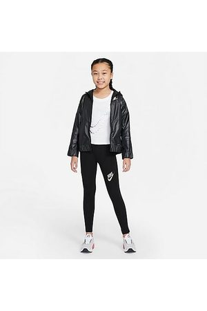 Nike Girls' Sportswear Favorites Pastel High-Waisted Leggings Size Small Cotton/Spandex/Knit