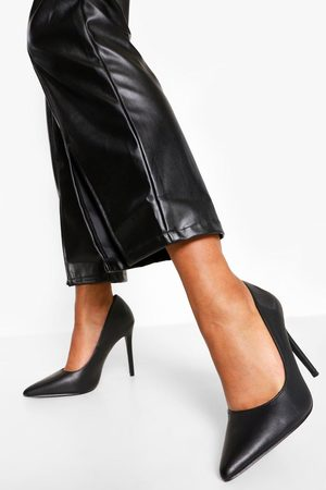 Boohoo Women Pumps - Womens Wide Fit Pointed Court Shoe - - 5