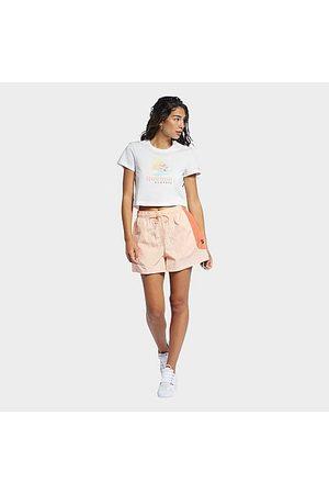 Reebok Women's Classics SR Bermuda Shorts in /Aura Size X-Small Cotton