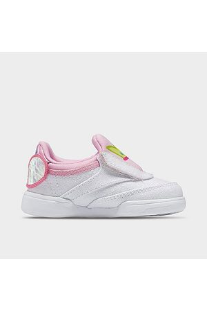 Reebok Girls' Toddler Classics Peppa Pig Club C 4 Slip-On Casual Shoes in /Icono Pink Size 4.0