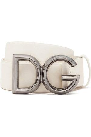 Dolce & Gabbana Logo-plaque adjustable belt