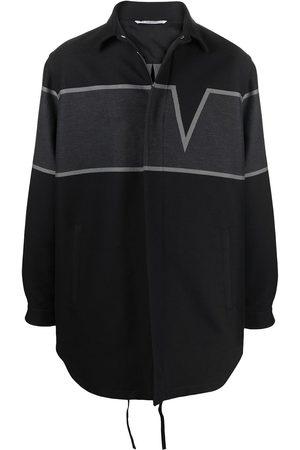 VALENTINO V-panel shirt jacket