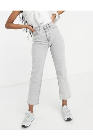 New Look Straight leg jeans in pale -Grey