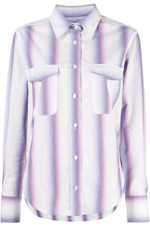 Isabel Marant Striped long-sleeve shirt