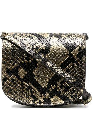 A.P.C. Snakeskin-effect crossbody bag