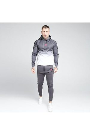 SikSilk Men's Athlete Jogger Pants in Grey/Charcoal Size Small Silk