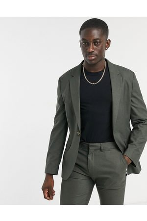 ASOS Skinny Suit Jacket In Forest