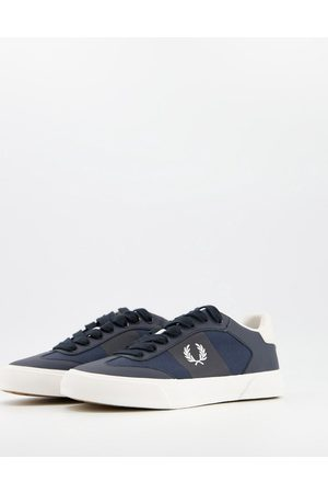 Fred Perry Leather sneakers in navy