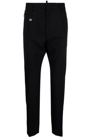 adidas Straight-leg wool trousers