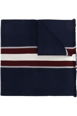 Bally Striped virgin wool scarf