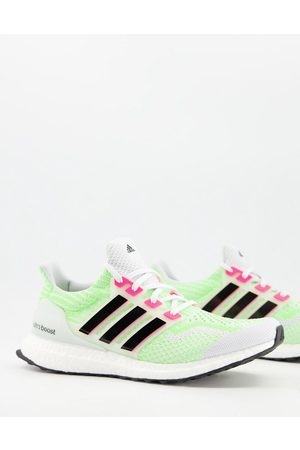 adidas Adidas Running Ultraboost DNA sneakers in yellow and white-Multi