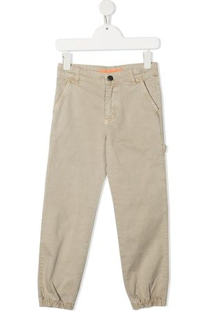 Zadig & Voltaire Logo-printed cargo trousers - Neutrals