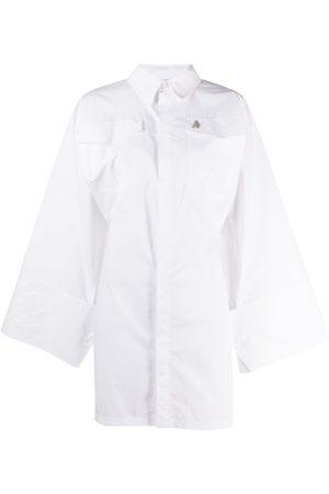 The Attico Cotton mini shirt dress