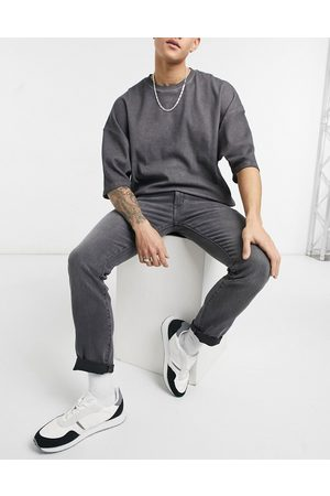 Wrangler Larston slim jeans in -Grey
