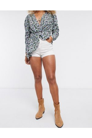 Topshop Mom denim shorts