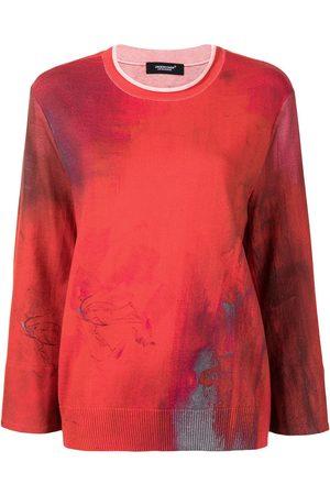 UNDERCOVER Sprayed print sweatshirt
