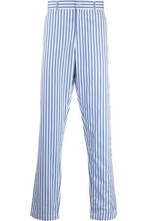 Comme des Garçons Striped tailored trousers