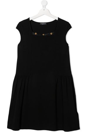 VERSACE Girls Casual Dresses - Medusa-studded dress