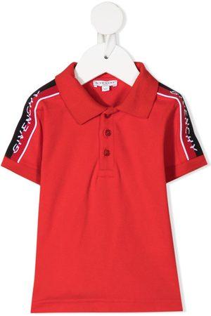 Givenchy Kids Polo Shirts - Intarsia shoulder polo shirt