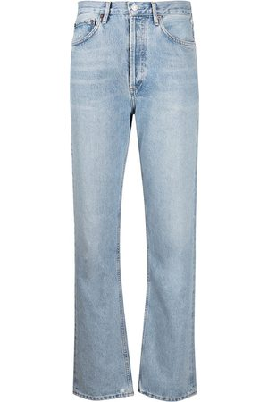 AGOLDE Mid-rise straight-leg jeans