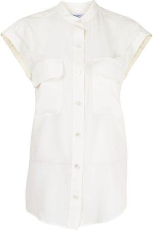 Equipment Cap sleeve shirt