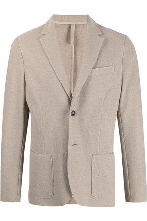 Harris Wharf London Notch-lapel single-breasted blazer - Neutrals