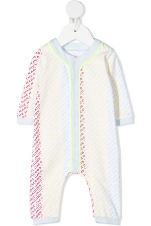 The Marc Jacobs Baby Rompers - Logo-print cotton romper