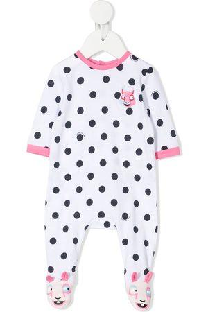 The Marc Jacobs Pajamas - Polkadot-print pyjama - Neutrals