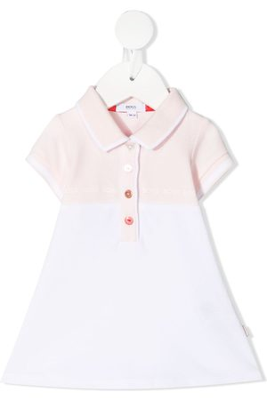 HUGO BOSS Polo-style short-sleeve dress