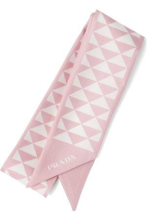 Prada Printed twill scarf