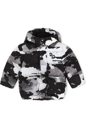 Dolce & Gabbana Camouflage-print coat