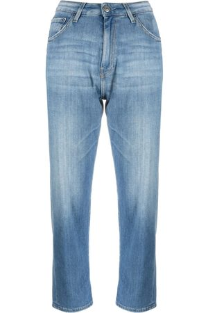haikure High-rise cropped jeans
