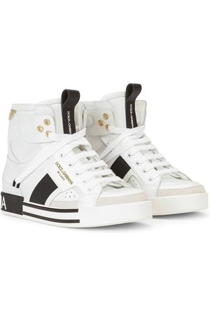 Dolce & Gabbana Logo-embossed lace-up sneakers