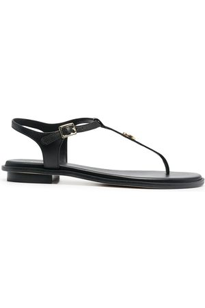 Michael Kors Logo plaque T-bar sandals