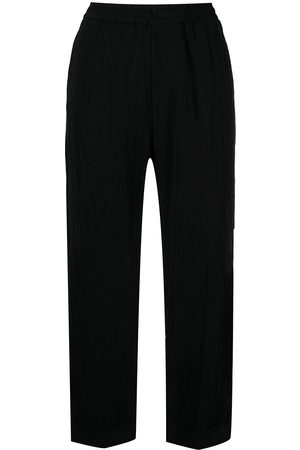 BARENA Cropped straight-leg trousers